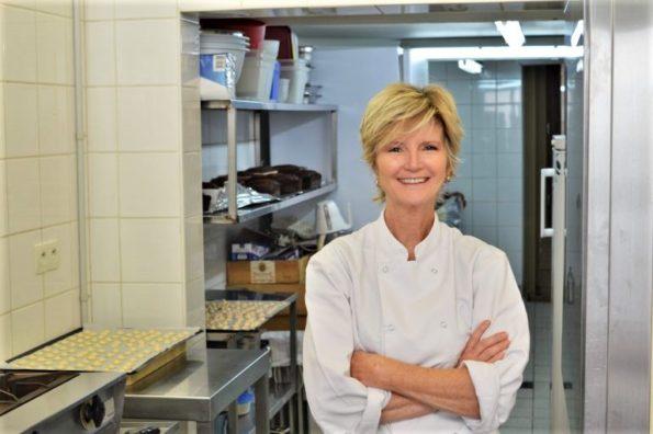 Françoise Bichonnier, pâtissière, Géranium Framboise