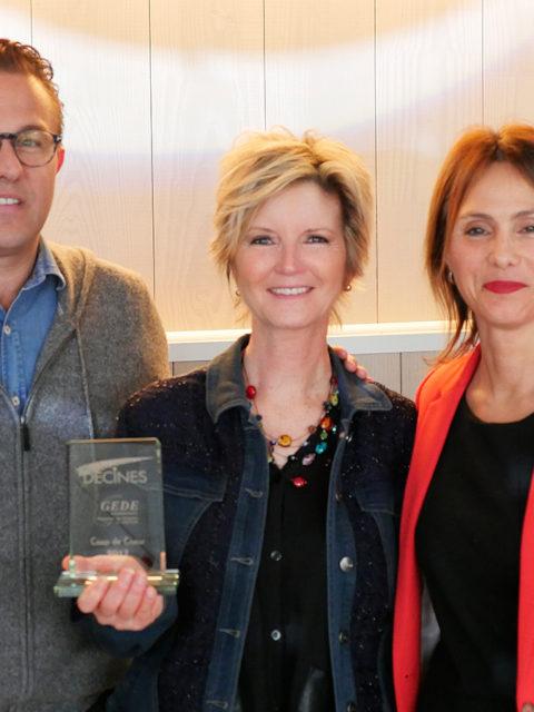 Françoise Bichonnier, Prix Décines, Géranium Framboise