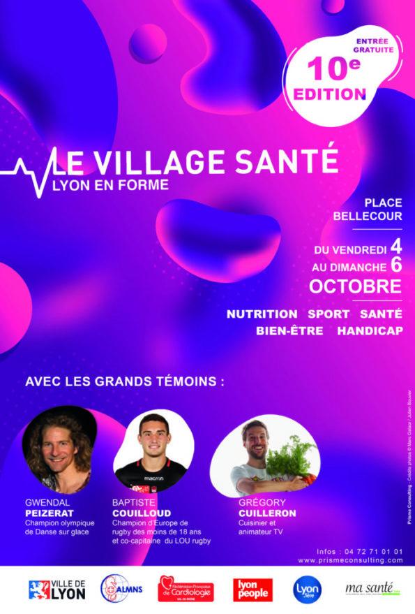 10e édition du Village Santé Lyon En Forme, Place Bellecour