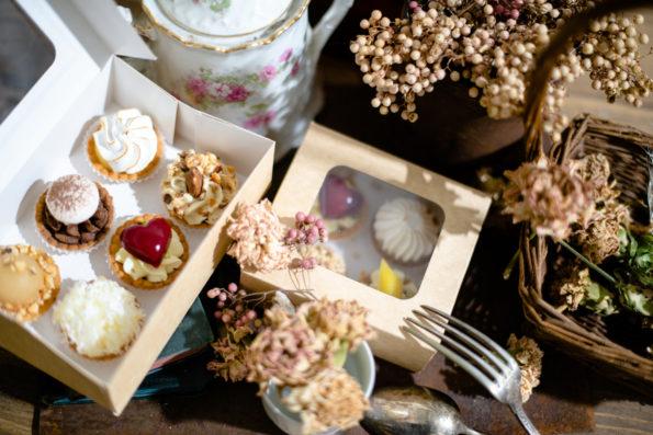 Mignardises Géranium Framboise, Pâtisseries Huiles Essentielles, Géranium Framboise Lyon ©Photographie Delphine Delamain